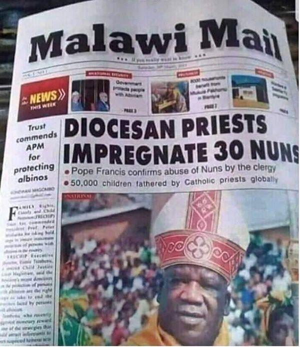 Diocesan Priest Impregnates 30 Nuns | Social | Peacefmonline.com